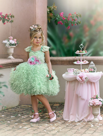 Happily Ever After Dress (Mint) (Short)
