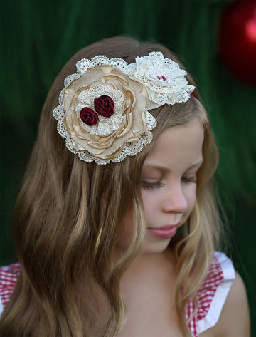 Antique Christmas Headband