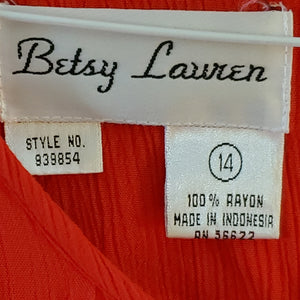 Betsy Lauren Red Dress (14)