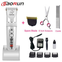 Load image into Gallery viewer, Baorun P9 Clipper Dogs Professional LCD Screen Pet Cat Clippers Electrical Grooming Trimmer Rechargeable Haircut Machine Animal