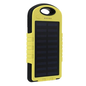 Solar Power Bank Waterproof 20000mah Solar Charger 2 Usb Ports External Charger Powerbank For Xiaomi Smartphone