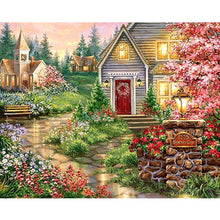 Load image into Gallery viewer, SDOYUNO 60x75cm Oil Painting By Numbers Landscape DIY Paint By Numbers On Canvas Frameless Home Decoration Unique Gift