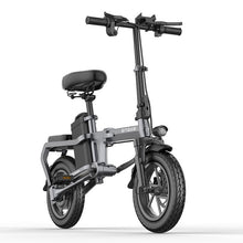 Load image into Gallery viewer, New Electric Bike without chain14inch Mini Electric Bicycle 48V10A city ebike 350W Powerful 32km/h bike/Full throttle sctooer