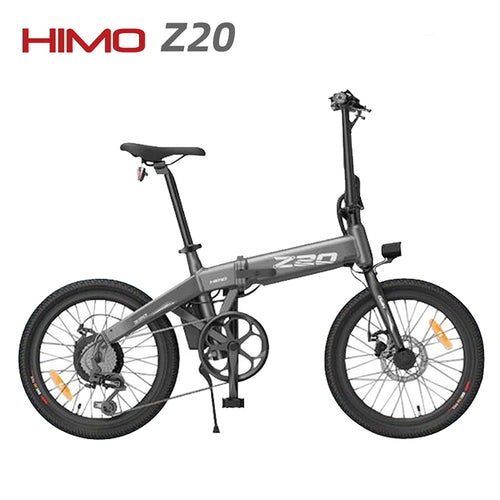 No Tax PL STOCK HIMO Z20 20Inches Electric Bicycle Folding design 100KG 10AH 36V 250W DC Motor E-bike For Xiaomi bicycle