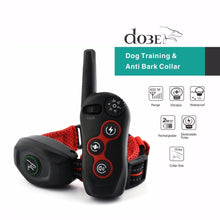 Load image into Gallery viewer, New Design Remote Dog Training & Anti Bark Collar 400M Rechargeable Dog Electric Collar Waterproof Pet Product 2019 New Arrival