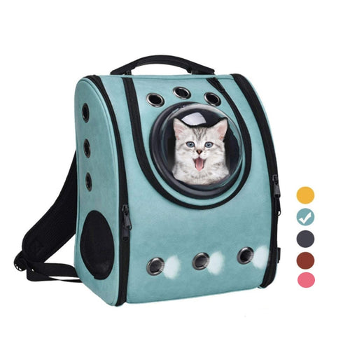 Honsene-The capsule bag carrying pet cat breathable outdoor portable packaging bag dasyure pets puppy travel backpack