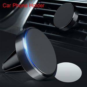 Universal Air Vent Magnet Phone Holder  Magnetic Car Phone Holder Stand