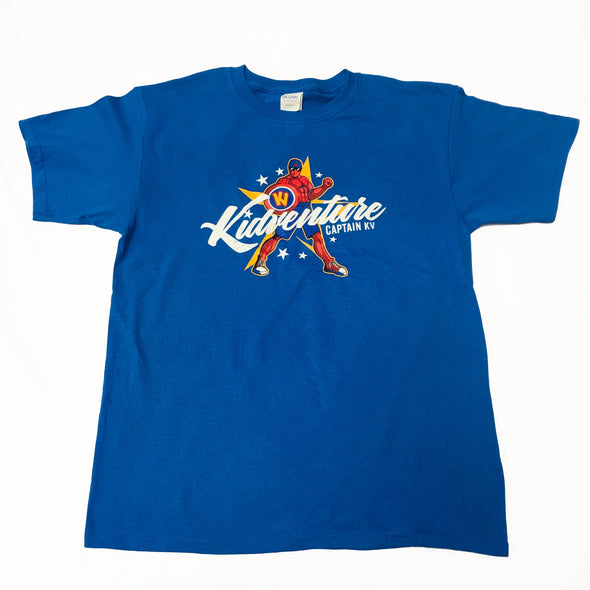 'Captain KV' Discoverer Camp T-Shirt