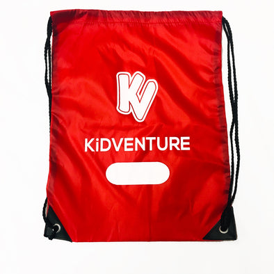 'Kidventure' Drawstring Bag