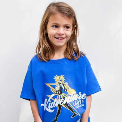 'Lady Lightning' Discoverer Camp T-Shirt