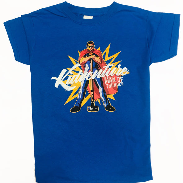 'Man of Thunder' Discover Camp T-Shirt