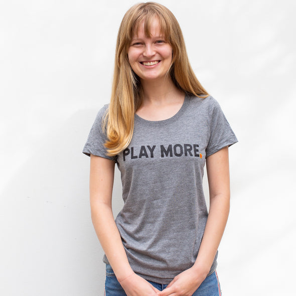 'Play More' Short Sleeve T-Shirt