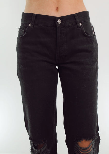the Free People black jeans