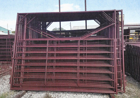 Texas Best 10 Ft Bow Gate- Cattle Panel