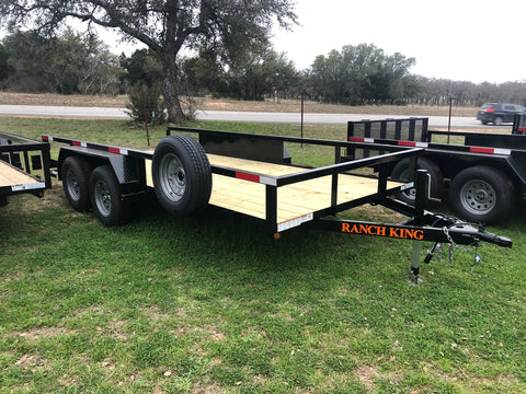 Ranch King 6'10 x 16 Tandem- TC16610-70ESR- 6309