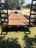 "Kearney 6'10"" x 20' Bumper Pull  Tandem Heavy Duty Equipment Trailer- 9810"