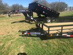 "LoadTrail 83"" x 20' Tandem Carhauler w/Side Rails- 1762"