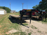 "Kearney 8'6"" x 25' Gooseneck Tandem Heavy Duty Flat Bed Equipment Trailer-9283"