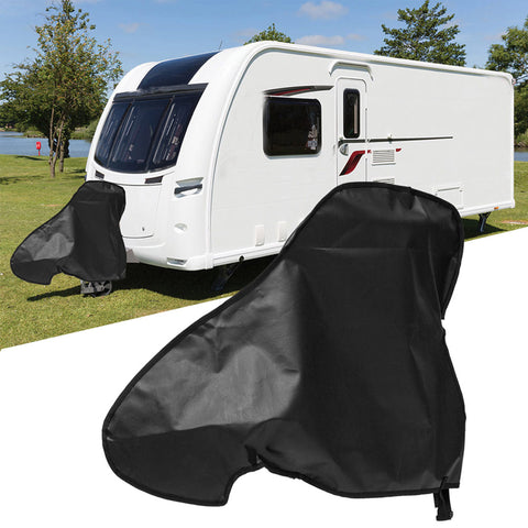 Universal PVC Waterproof Campervan & Caravan Towing Hitch Cover Trailer Rain Snow Dust Protector