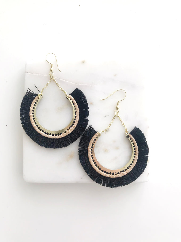Fleetwood Fringe Earrings