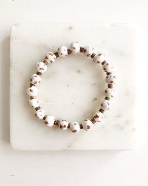 Cloud Clay Bracelet