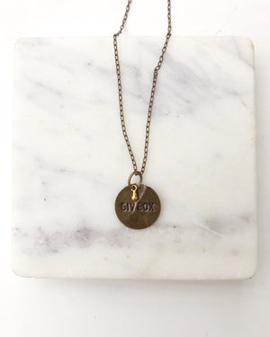 Giv Box Necklace