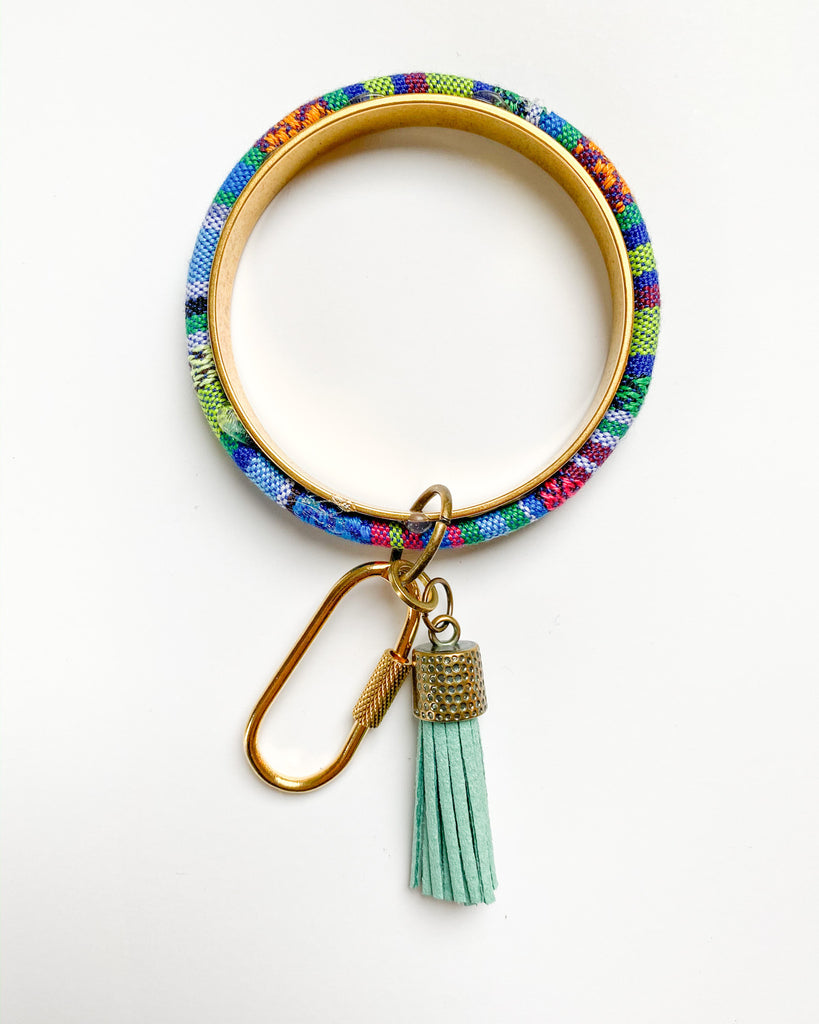 Traveler Bracelet Key Chain