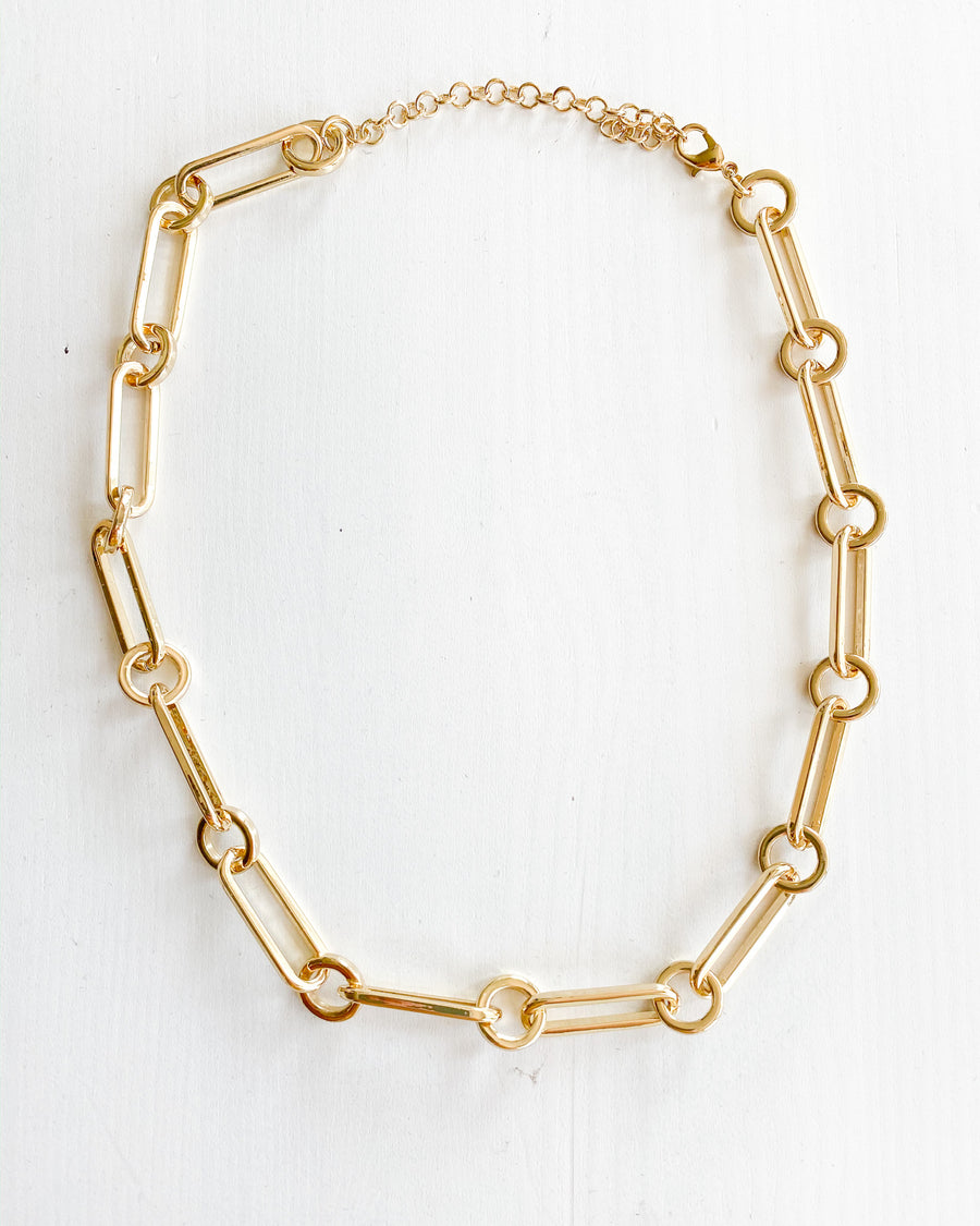 Link Up Gold Necklace
