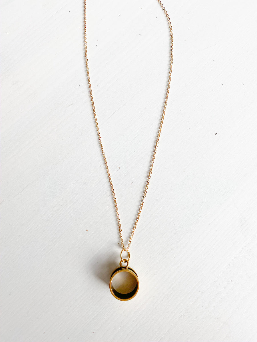 Gold Chain O Necklace