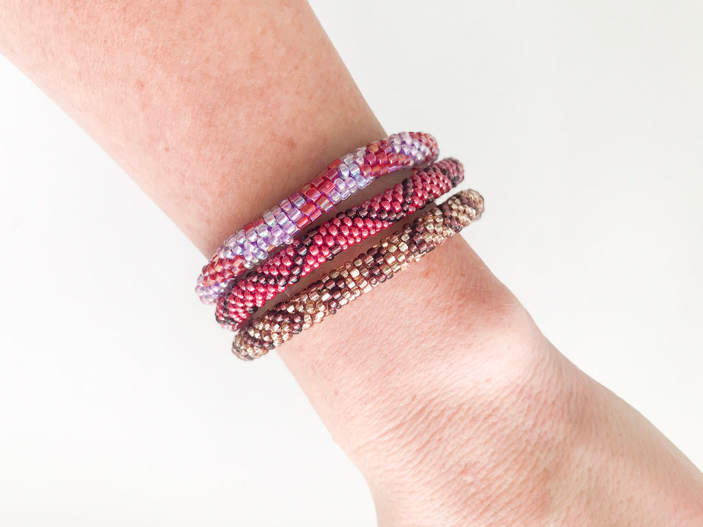 Lacy Roll On Bracelet