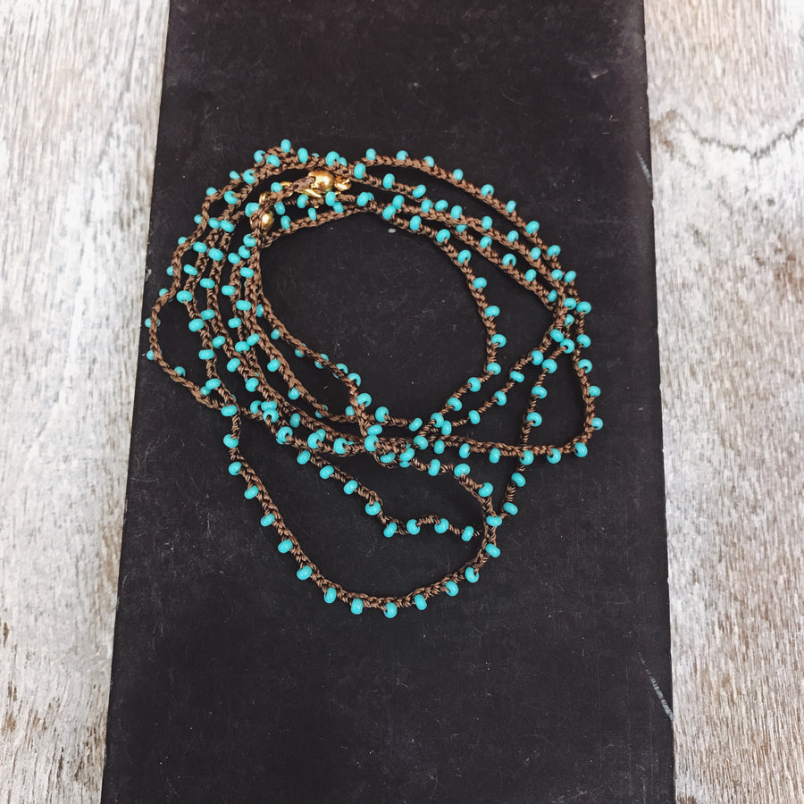 Mica Wrap Necklace