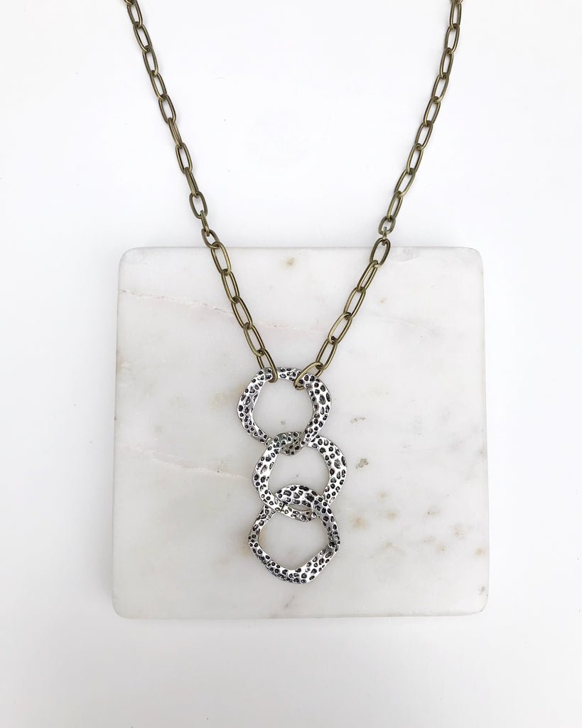 "Triple ""O"" Necklace"