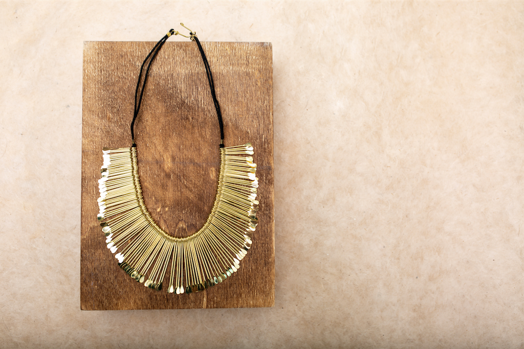 Aksha Gold Necklace