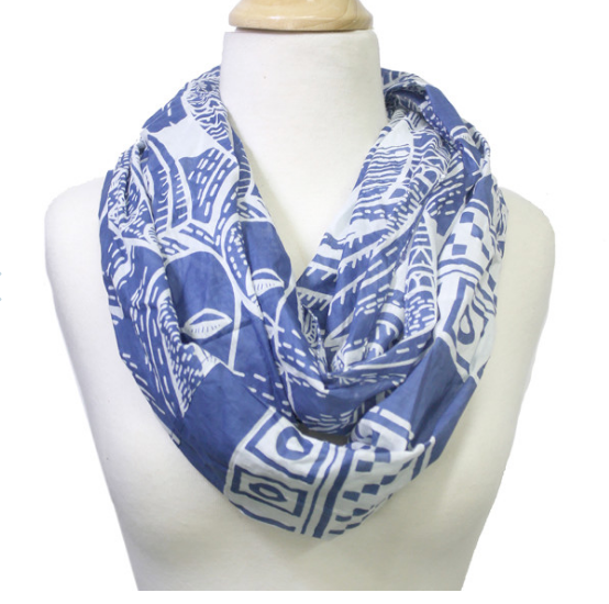 Blue Bird Infiniti Scarf