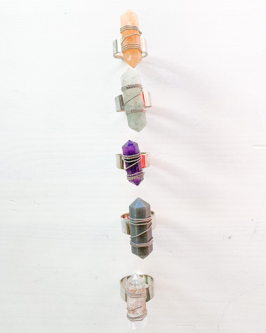 Tori Crystal Rings