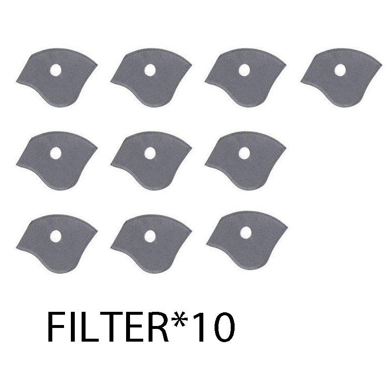 (10PCS Filter) Sports Cycling Activated Carbon Tool