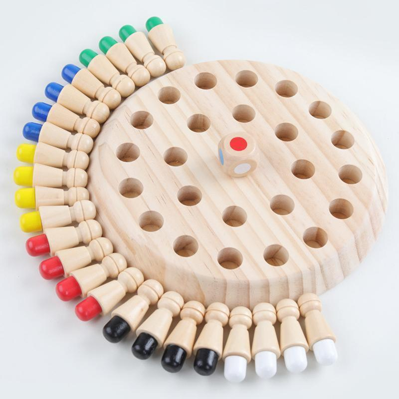 [PRE SALE] Wooden Memory Chess Game