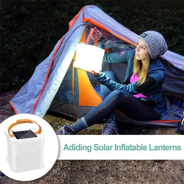 Solar 2-in-1 Phone Charger Lanterns