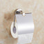 Toilet Paper Holder Bathroom Hardware Silver Shiny