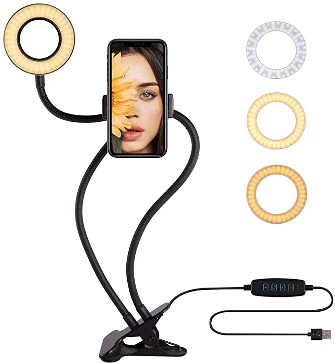 360°LED Upgraded Selfie Ring Light