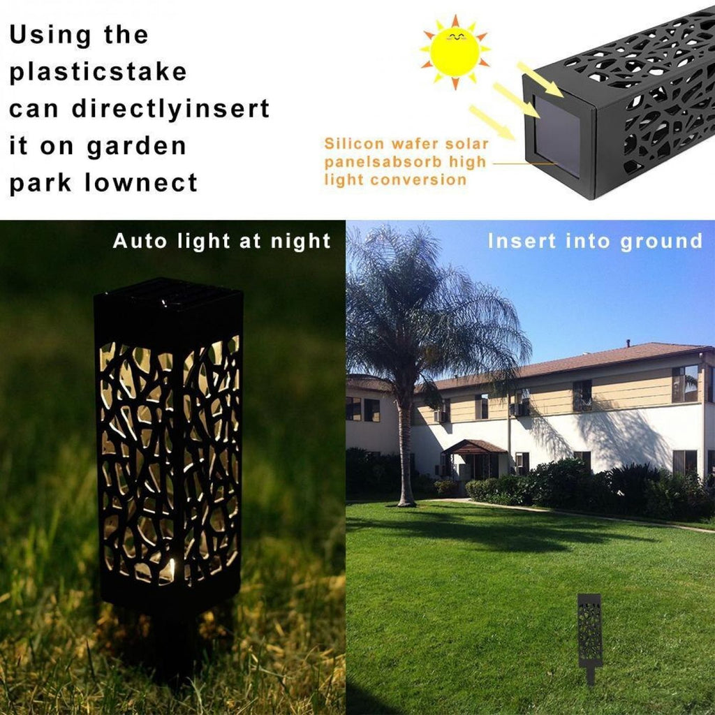 LED Automatic Solar Pathway Lights