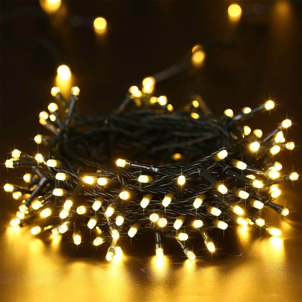Solar String Lights 200 LED Waterproof