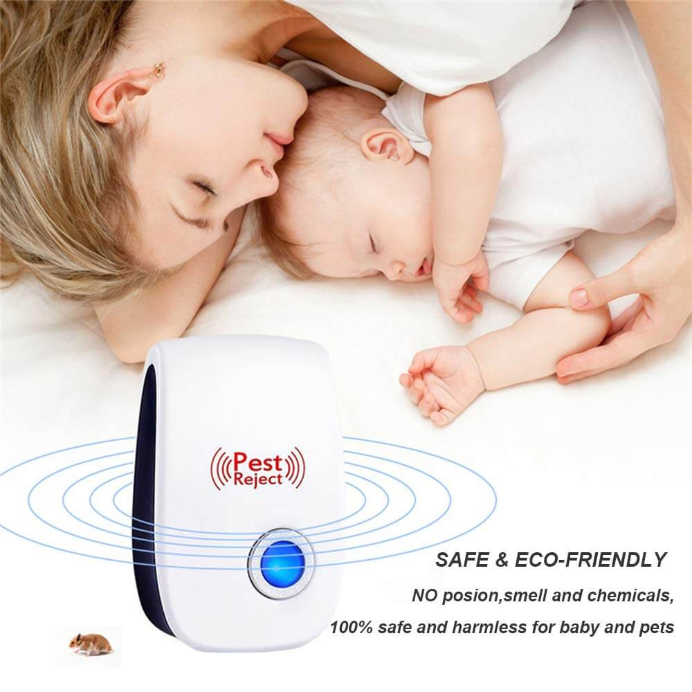Electronic Ultrasonic Pest Repeller Indoor Bug Insect