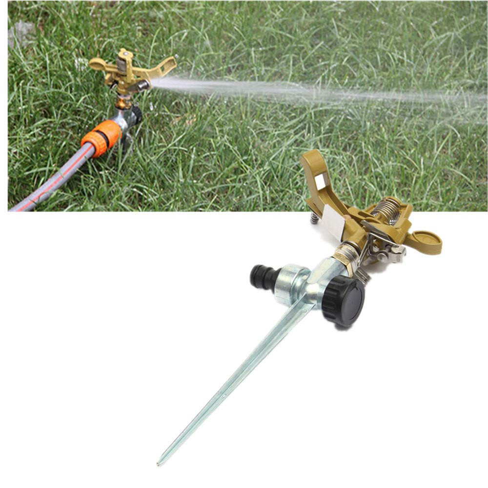 Top Metal Impact Sprinkler Heads On Spikes Metal Lawn Garden