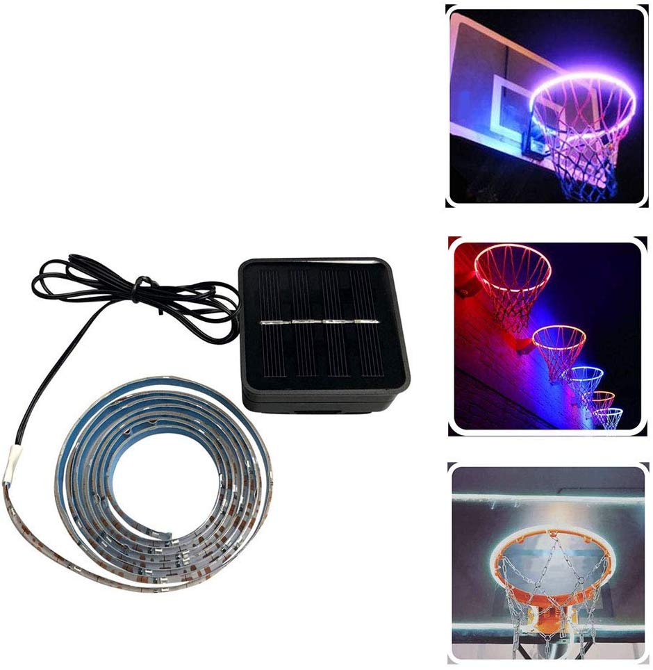Solar Basketball Hoop LED Light