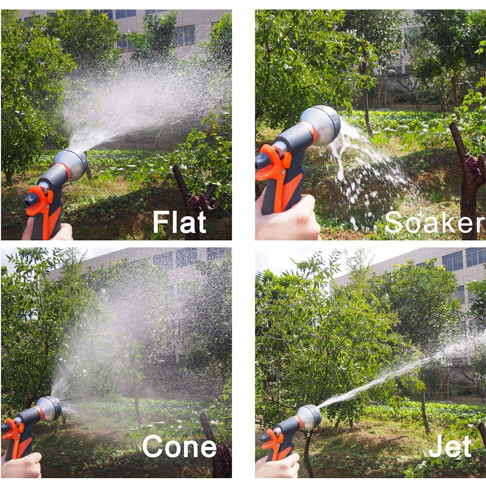 Lawn Garden Sprayer Nozzles With 8 Watering Pattern Design