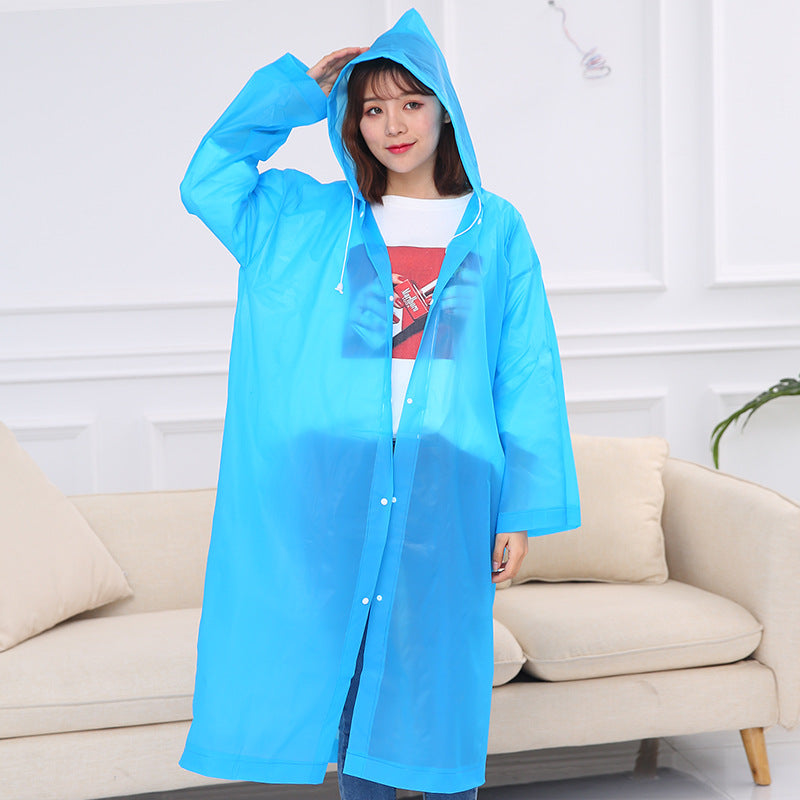 Outdoor Portable Frosted Raincoat (2 colors optional)