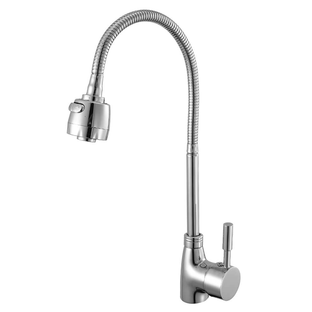 360 Degree Hose Swivel Sink Faucet For Hot And Cold Water