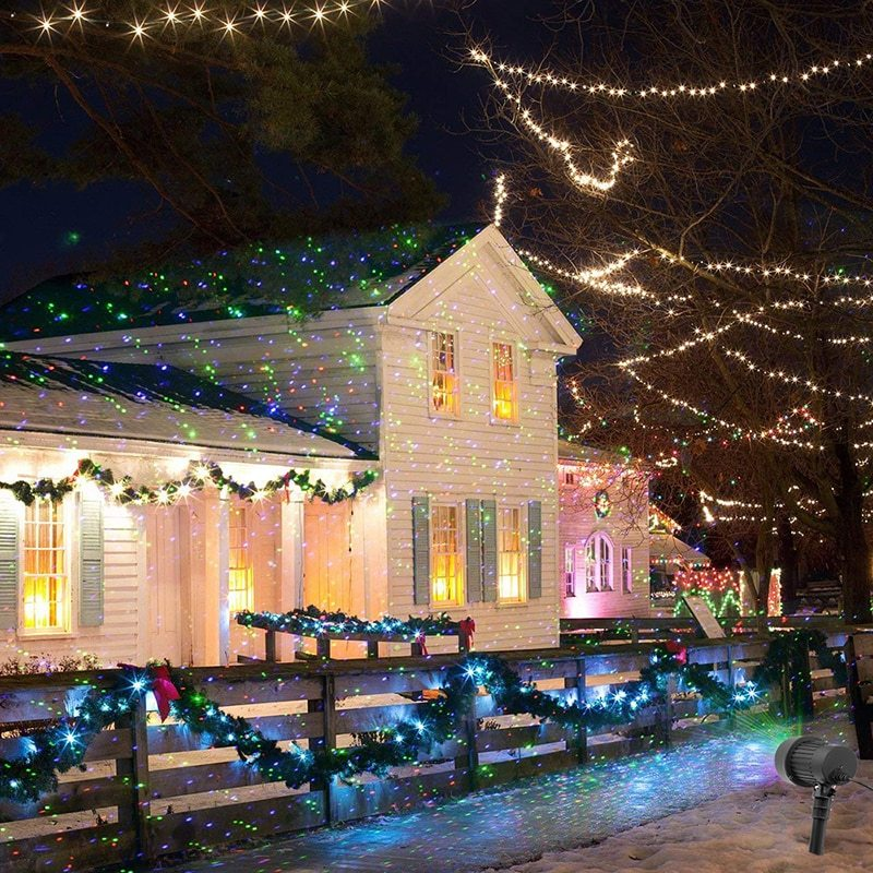 Star Lights & Outdoor Holiday Projectors