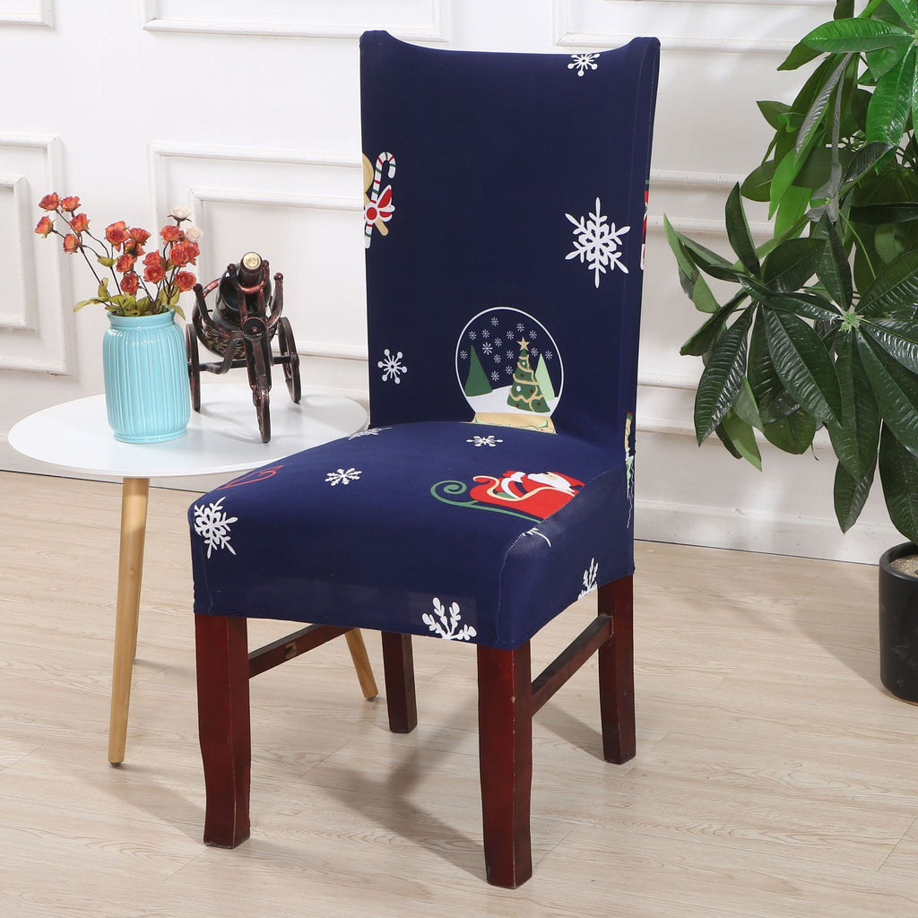 Removable Washable Dining Chair Protector Cover Style 1